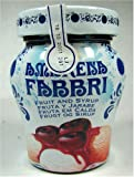 Fabbri Amarena Cherries in Syrup - 8.1oz. Decorated Jar