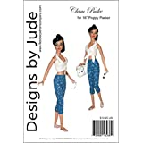 Designs by Jude Clam Bake Printed Sewing Pattern for 16