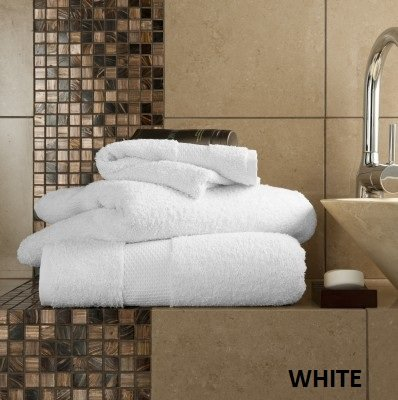 Egyptian Combed Cotton Bath Sheet [700 Gsm] (White)