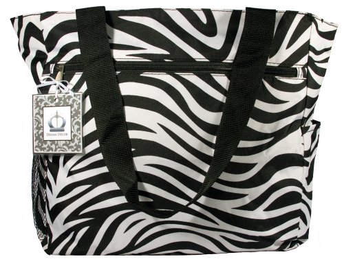 Beach Tote Multipurpose Oversized Bag Carry On Chevron Trendy Patterns Animal Print