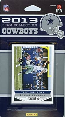 Dallas Cowboys 2013 Score NFL Football Factory Sealed 10 Card Team Set Including Tony Romo, Dez Bryant, Miles Austin, DeMarco Murray, Jason Witten, Morris Claiborne, DeMarcus Ware, Gavin Escobar, Joseph Randle and Terrance Williams.