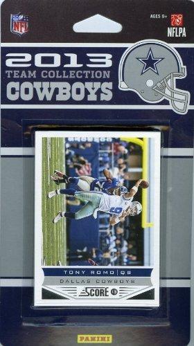 Dallas Cowboys 2013 Score NFL Football Factory Sealed 10 Card Team Set Including Tony Romo, Dez Bryant, Miles Austin, DeMarco Murray, Jason Witten, Morris Claiborne, DeMarcus Ware, Gavin Escobar, Joseph Randle and Terrance Williams.
