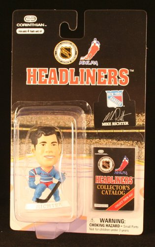 MIKE RICHTER / NEW YORK RANGERS * 3 INCH * 1997 NHL Headliners Hockey Collector Figure