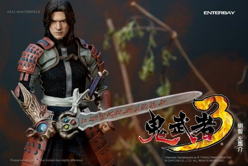 ENTERBAY  鬼武者3 明智左馬介 金城武 TAKESHI KANESHIRO アニメーション フィギュア人形 Japanese animation cartoonan Masterpiece 1/6 Scale Collectible Figure