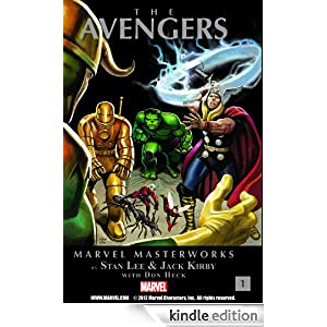 The Avengers, Vol. 1 Marvel Masterworks1 Kindle Edition