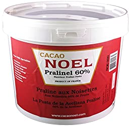 Noel Hazelnut Praline Paste - 60% - 1 pail - 11 lb