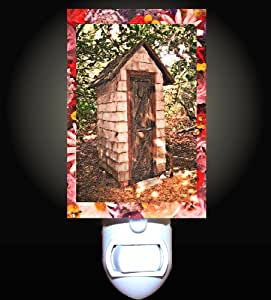 Spring Outhouse Decorative Night Light