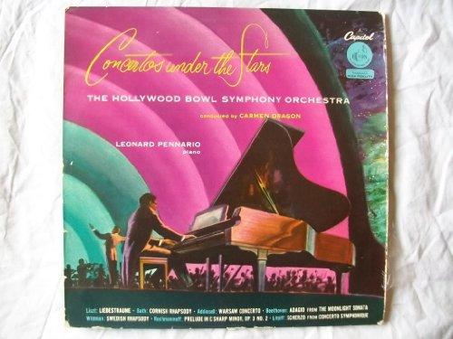 P 8326 Concertos Under Stars Hollywood Bowl Dragon LP