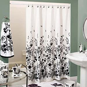 Amazon.com: Sturdy Cotton Duck Shower Curtain, Made in USA (TUB