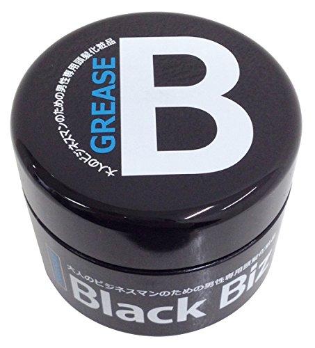 大人のビジネスマンのための男性専用頭髪化粧品 BlackBiz GREASE ブラックビズ グリース