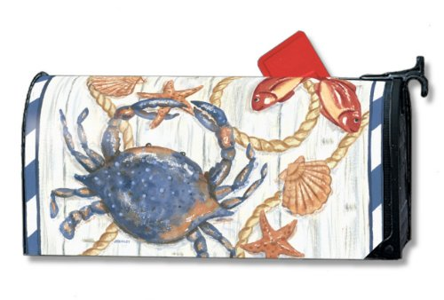 Chesapeake Bay Blue Crab MailBox MAG Wrap Cover
