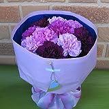 フラワーショップヤーミー特選・サントリーの青いカーネーションの花束:ムーンダストmix