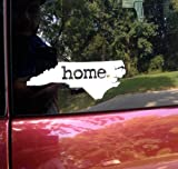 Home North Carolina White Vinyl Decal Matte Black Decor Decal Skin Sticker Car Truck Sticker