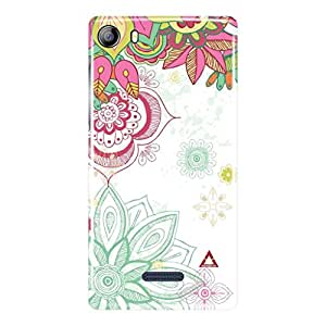 a AND b Designer Printed Mobile Back Cover / Back Case For Micromax Canvas 5 - E481 (MIC_E481_3D_3614)