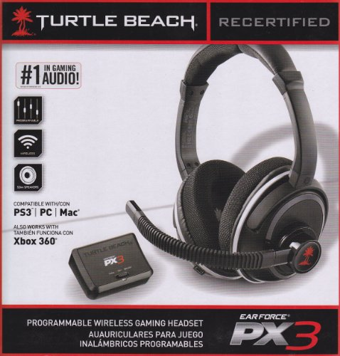 Recertified Turtle Beach Ear Force Px3 Programmable Wireless Gaming Headset