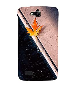 printtech Maple Leaf Macro Back Case Cover for Huawei Honor Holly