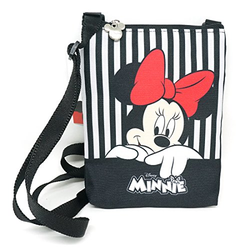Disney-Crossbody-Bag-Minnie-Bag-Multi-pocket-Minnie-Mouse-Shoulder-Purse-Phone-Bag-Minnie-Smile