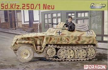 Dragon - D6427 - Maquette - SDKFZ250/1 Neu - Echelle 1:35