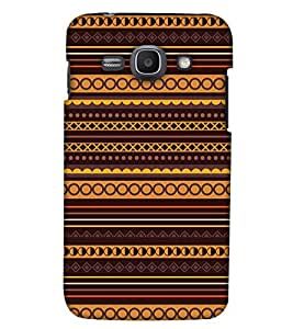 PrintHaat Polycarbonate Designer Back Case Cover for Samsung Galaxy Ace 3 :: Samsung Galaxy Ace 3 S7272 Duos :: Samsung Galaxy Ace 3 3G S7270 :: Samsung Galaxy Ace 3 LTE S7275 (designer pattern :: decorative design :: zig zag design :: multicolor design :: latest trendy design :: excellent drawing design :: good looking art design :: in black, green, red, blue and yellow)