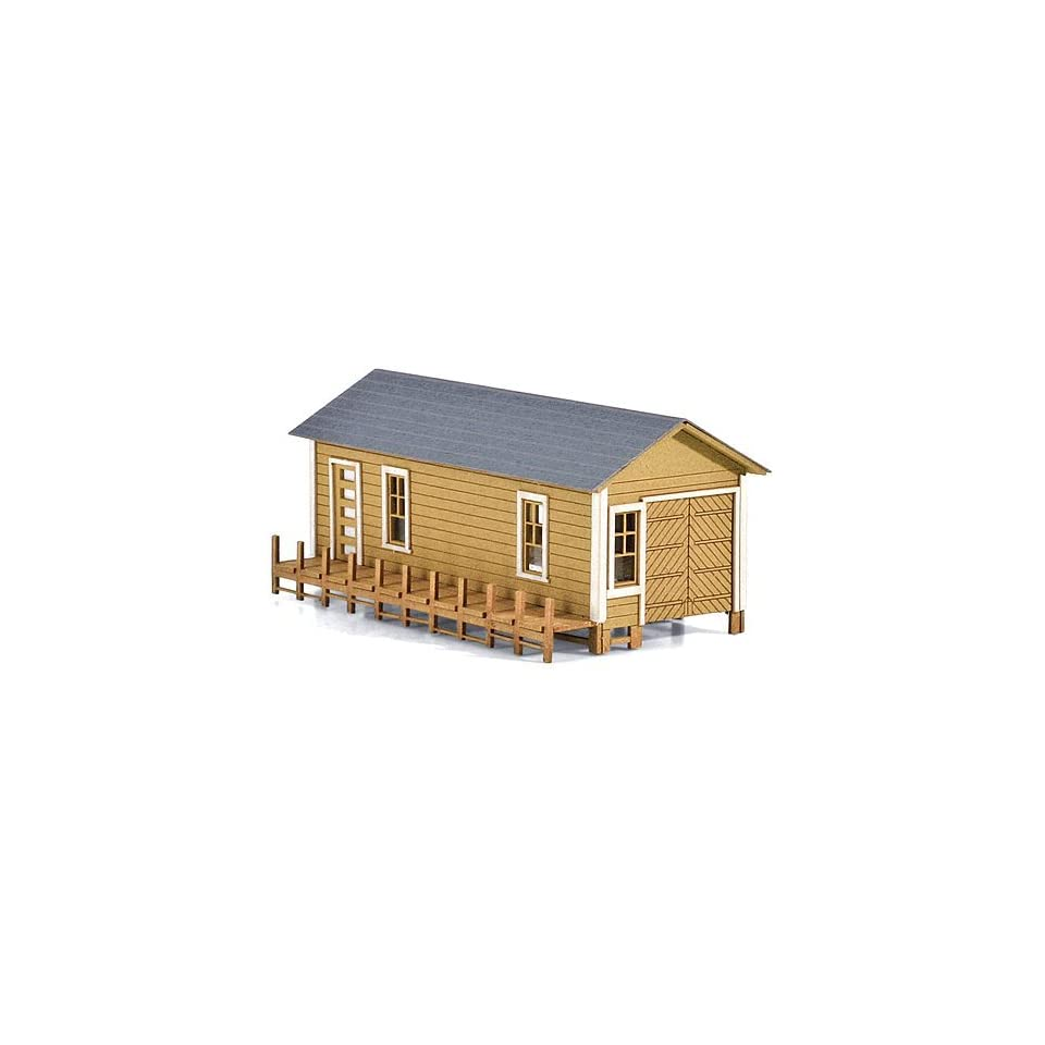 Micro Trains N Scale Boat House Laser Cut Wood Kit on PopScreen