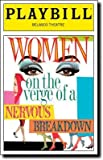 Brand New Color Playbill from Women on the Verge of a Nervous Breakdown starring Sherie Rene Scott Patti LuPone Brian Stokes Mitchell Laura Benanti