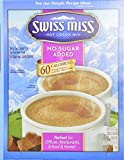 Swiss Miss Milk Chocolate No Sugar Added Not Sugar Free Premium Hot Cocoa Mix - 60 Envelope Pack