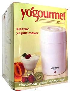 Kefir Maker/Yogurt Maker Kit with Cheese Maker Bag and Thermometer -Makes 2 Litres (2.1Quarts) Brand: Yogurt Plus