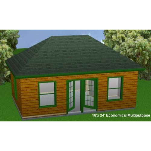 Log Cabin Blueprints 16x24 Joy Studio Design Gallery