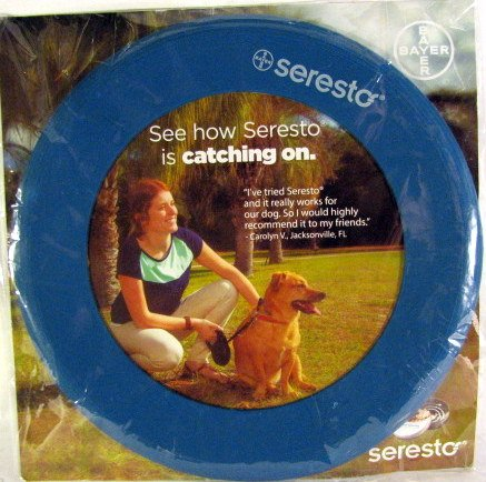 Seresto Promotional Flying Disc - 1