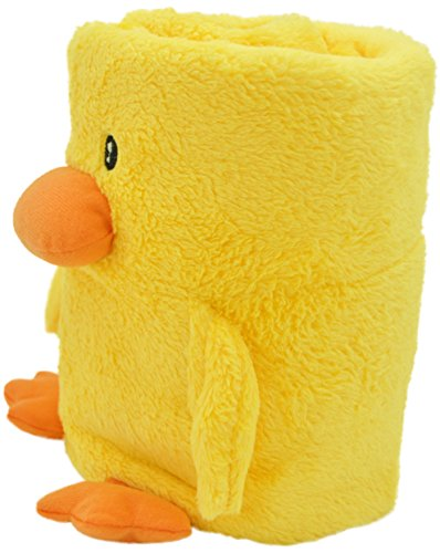 Jack and Friends Cuddly Animal Baby and Kids Blanket Duck