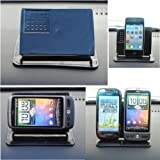Mobilizers: Non-Slip Smart Stand Car Dashboard Holder With 360 Degree Rotation Feature For All New Models Including HTC 7 Mozart, 7 Pro, 7 Trophy, Aria, ChaCha, Desire, Desire C, Desire HD, Desire S, Desire X, Desire Z, Evo 3D, Google Nexus One, Gratia,