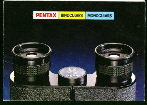 Pentax Binocular Monocular Catalog Folder 1980
