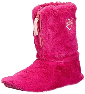 Bedroom Athletics Womens Aniston Slippers 210-066-51313-1S Hot Pink Small, 36-37 EU, 3-4 UK