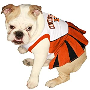 Pets First NFL Chicago Bears Dog Cheerleader Dress, X-Small