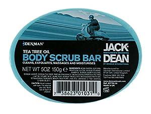 Jack Dean Tea Tree Body Scrub Bar 150g