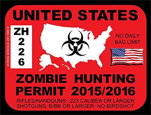 Zombie fun shopswell for State of maine fishing license
