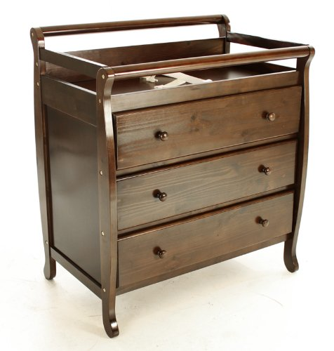 best prices on me liberty collection 3 drawer changing table espresso nursery furniture