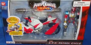 Power Rangers SPD Red S.P.D. Patrol Cycle