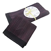 "OWM 4 Assorted Classic Luxury Soft Cotton Handkerchiefs for Men ( 18""x18"" )"