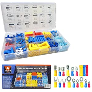 360-piece Solderless Electrical Terminal Assortment