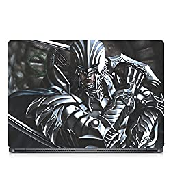 Inktree Vinyl Assassin Matte Finish Adhesive Laptop Skin (15 inch x 10 inch, Mulicolor)