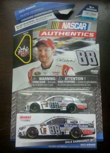 NASCAR Authentics, Race Winners, Dale Earnhart Jr. International National Guard Die-Cast Car, 1:64 Scale - 1
