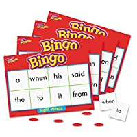 Trend Young Learner Bingo Game, Sightwords (T6064) by Flat River Group