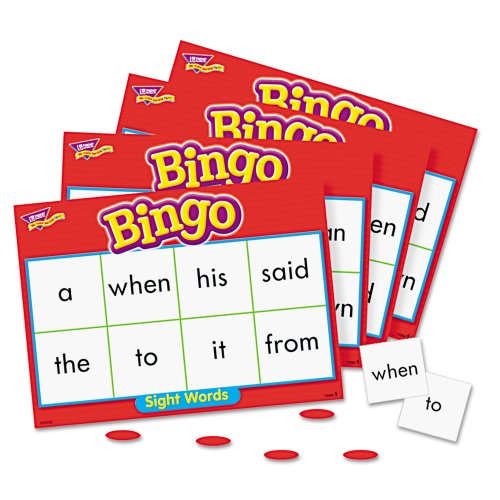 Cheap Trend Enterprises Sight Words Bingo Flash Cards