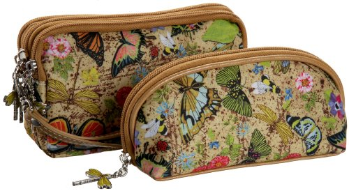 Sydney Love Botanical Pouch and Cosmetic Bag Set