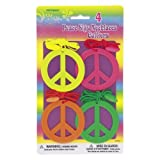 Tye-Dye Peace Sign Necklaces [4]