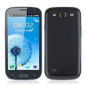 Teléfono libre I9300 Dual Core 4.0/3G/dual SIM Azul Android