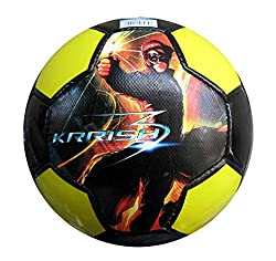 Simba Flying Krish Soccer Ball Size 5, Yellow