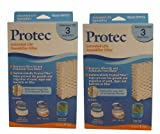 Protec Extended Life Humidifier Filter - Model WF813 (Pack of 2)