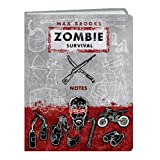 Zombie Survival Notes Mini Journalby Max Brooks
